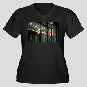 Bourbon Street Sign in New Orlea Plus Size T-Shirt
