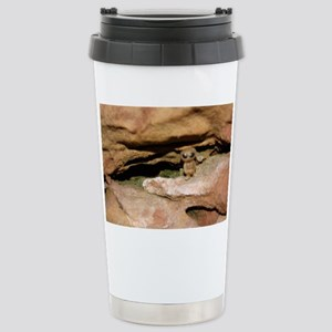 alien spaceman et outer Stainless Steel Travel Mug