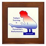 Gymnastics Framed Tile - Training