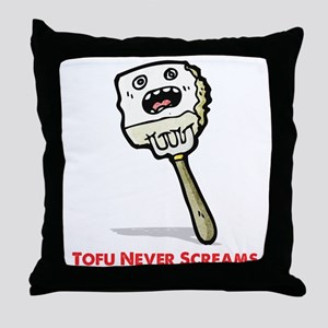 Tofu Throw Pillow