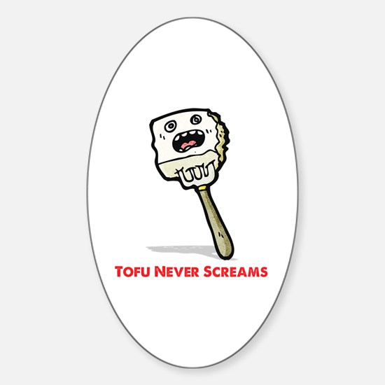 Tofu Sticker (Oval)