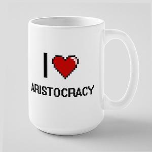I Love Aristocracy Digitial Design Mugs