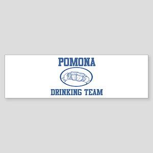 POMONA drinking team Bumper Sticker
