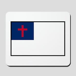 Christian Flag Mousepad
