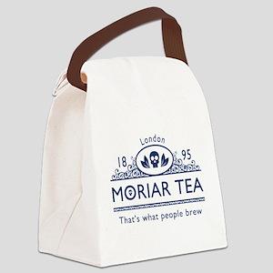 moriarteanewblue Canvas Lunch Bag