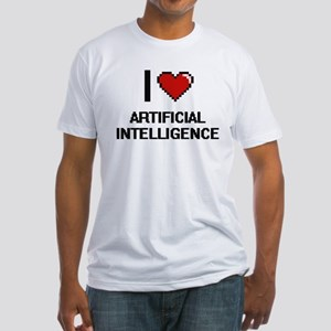 I Love Artificial Intelligence Digitial De T-Shirt