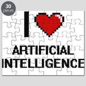 I Love Artificial Intelligence Digitial Des Puzzle