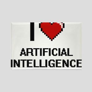 I Love Artificial Intelligence Digitial De Magnets