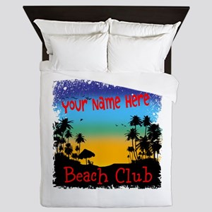 Morning Beach Club Queen Duvet