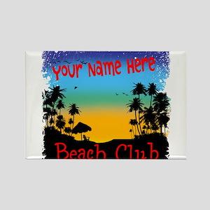 Morning Beach Club Magnets