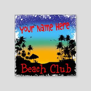 Morning Beach Club Sticker