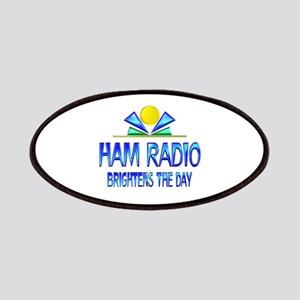 Ham Radio Brightens the Day Patch
