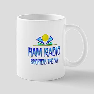 Ham Radio Brightens the Day Mug
