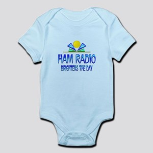 Ham Radio Brightens the Day Infant Bodysuit