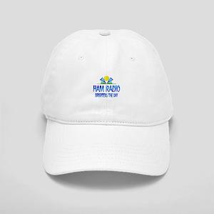 Ham Radio Brightens the Day Cap