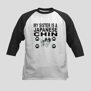 My Sister Is A Japanese Chin Baseball Jersey