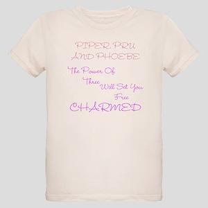 Charmed Power of Three Organic Kids T-Shirt