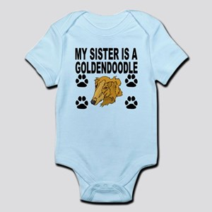 My Sister Is A Goldendoodle Body Suit
