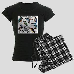 Kingfishers of the World Women's Dark Pajamas