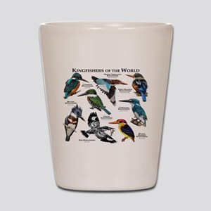 Kingfishers of the World Shot Glass