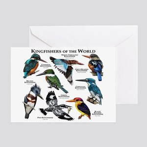 Kingfishers of the World Greeting Card