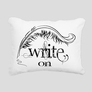 Write On Rectangular Canvas Pillow