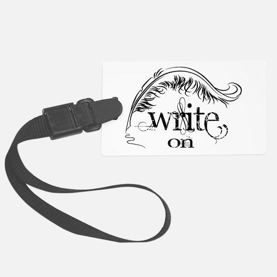 Write On Luggage Tag