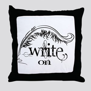 Write On Throw Pillow