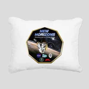 New Horizons Pluto Mission Rectangular Canvas Pill
