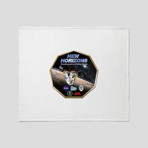 New Horizons Pluto Mission Throw Blanket