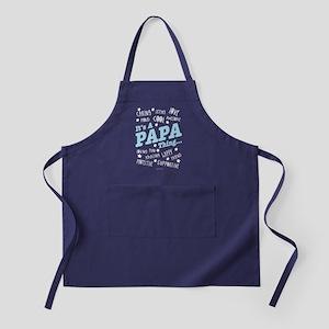 It's a Papa Thing Apron (dark)