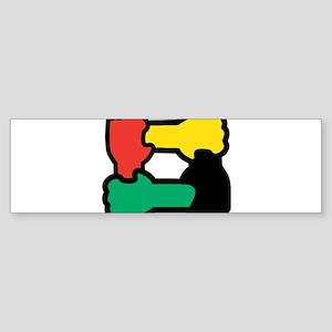 Equal Race Bumper Sticker