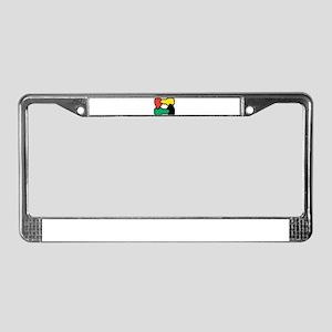 Equal Race License Plate Frame