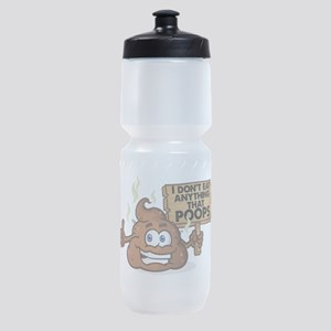 I Don't Eat Anything that Poops Sports Bottle
