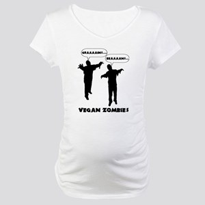 Vegan Zombies Maternity T-Shirt