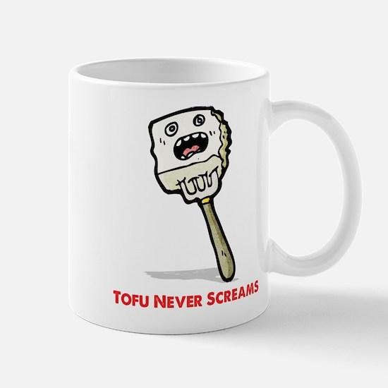 Tofu Never Screams Mugs