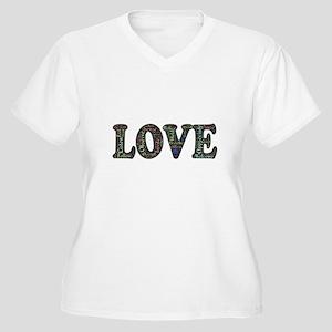 Love Affirmation Plus Size T-Shirt