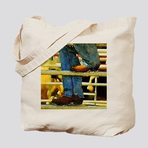 western country rodeo cowboy Tote Bag