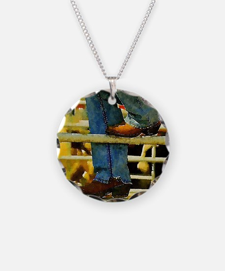western country rodeo cowboy Necklace