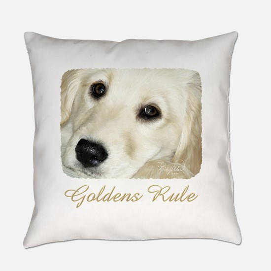 Goldens Rule Everyday Pillow