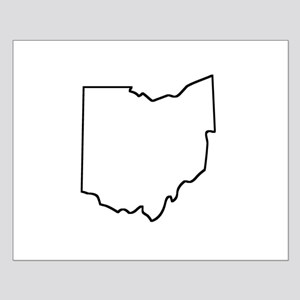 Ohio Outline Posters