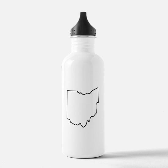 Ohio Outline Water Bottle