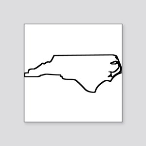 North Carolina Outline Sticker