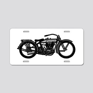 VINTAGE MOTORCYCLE-OLD'S COOL! Aluminum License Pl