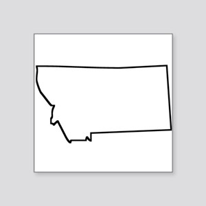 Montana Outline Sticker