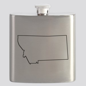 Montana Outline Flask