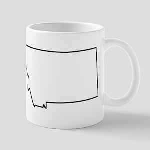 Montana Outline Mugs