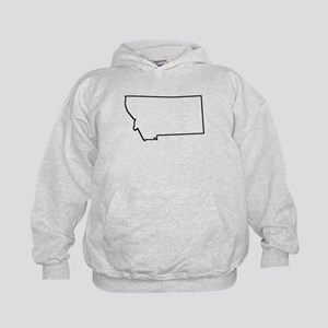 Montana Outline Hoodie