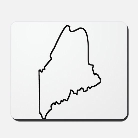 Maine Outline Mousepad