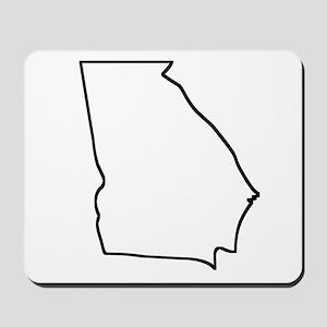 Georgia Outline Mousepad